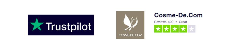 Trustpilot cosme-de.com