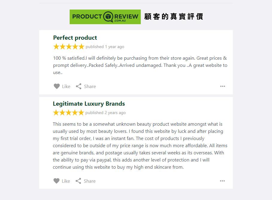 Product Review AU