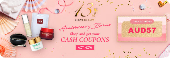 13th Anniversary Bonus 💰 Shop and get your CASH COUPONS