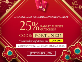 ✿ New Year Red Pocket ✿ 25% Off on Selected Items
