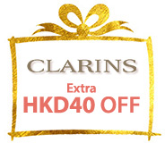 SAVE USD5 on Clarins NOW!
