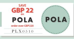 SAVE USD28 on Pola NOW!