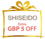 SAVE USD5 on Shiseido NOW!