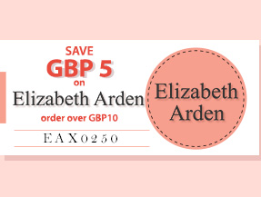 SAVE USD5 on Elizabeth Arden NOW!