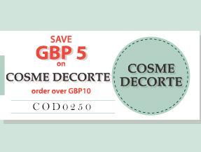 SAVE USD5 on COSME DECORTE NOW!