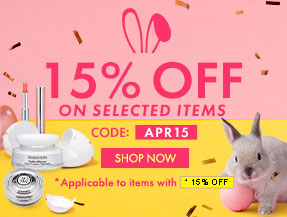 15% Off On selected items