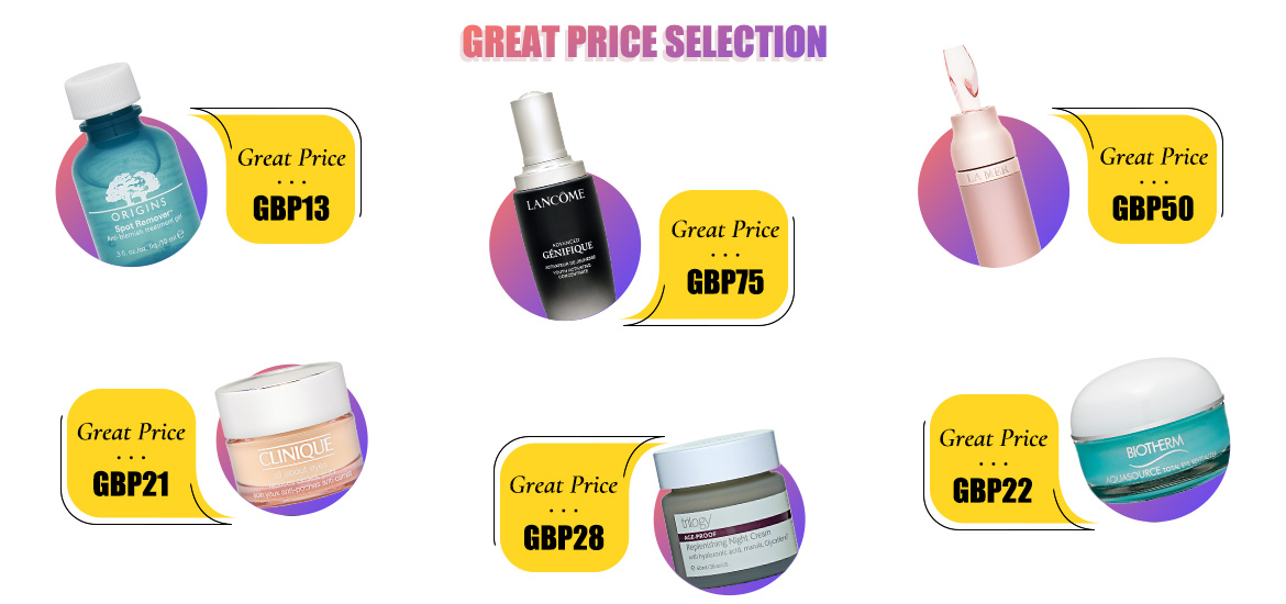 Great Price Selection 🙌🏻 Find COSME-DE Picks HERE!