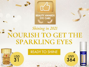 Shining in 2021 👀 Nourish to get the sparkling eyes