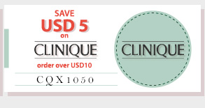 SAVE USD5 on Clinique NOW!