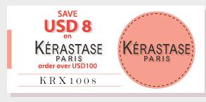 SAVE USD8 on Kérastase Paris NOW!