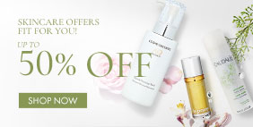 Skincare Offers Fit For You! UP to 50% OFF. SHOP NOW!