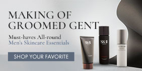 Making of Groomed Gent. Must-have Men's Skincare Essentials. Grab it now!