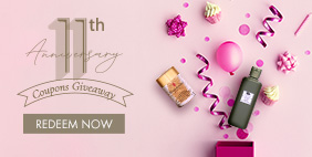 11th Anniversary Celebration!  Coupons Giveaway