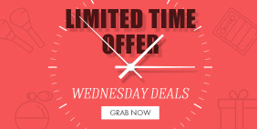 Limited Time Offer WEDNESDAY DEALS