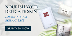 Nourish your delicate skin ☺ Masks for your eyes and face  [Grab them NOW]