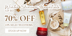 Winter Skincare Essentials ❄️Up to 70% Off on selected items