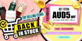 Top Selling Items BACK IN STOCK!