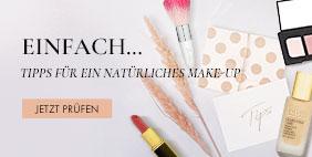 Einfach… Tipps für ein natürliches Make-up