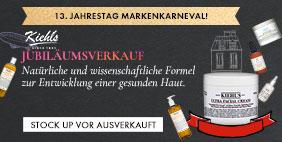 Kiehl's Jubiläumsverkauf