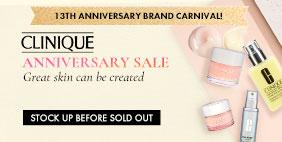 13th Anniversary Brand Carnival 🎪 Clinique Anniversary SALE 💳