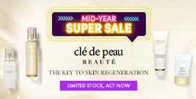 Mid-Year SUPER SALE: Clé de Peau Beauté  🔑