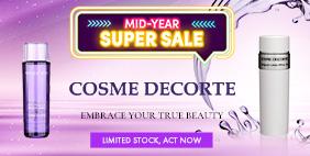 Mid-Year SUPER SALE: COSME DECORTE