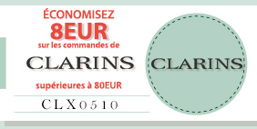 SAVE USD10 on Clarins NOW!