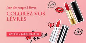 💄 Jour des rouges à lèvres 💋