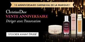 VENTE ANNIVERSAIRE Christian Dior