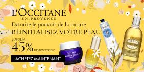 L'OCCITANE Extraire le pouvoir de la nature Réinitialisez votre peau
