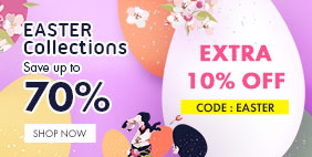 EASTER Collections, EXTRA 10% Off 🐰🥚 Enter Code: EASTER