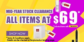 MID-YEAR STOCK CLEARANCE ⚡ ALL ITEMS AT SAME PRICE