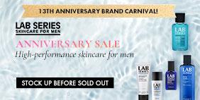 13th Anniversary Brand Carnival 🎪 Lab Series Anniversary SALE 💳