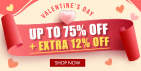 💟 Valentine's Day 💕 Extra 12% Off on selected items