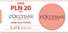 SAVE USD5 on L'Occitane NOW!