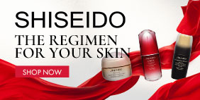 [Shiseido] The Regimen for Your Skin. Beauty to the next level.