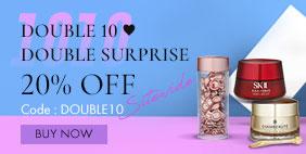 Double 10 ♥ Double Surprise 20% Off Sitewide! ♥ Code: [DOUBLE10]  Plus CASH Coupons ►SHOP NOW►