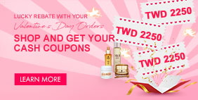 Lucky rebate with your Valentine's Day Orders Shop and get your CASH COUPONS ❤
