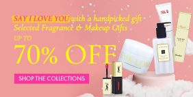 Say I Love You 💘 with a handpicked gift 🎁 Selected Fragrance & Makeup Gifts Up to 70% Off