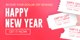 Happy New Year - Receive Your Dollar Off Reward! Get it NOW