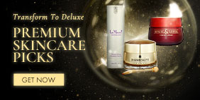 Transform To Deluxe.  Premium skincare Picks!