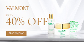 【Valmont】Swiss Age-Reversing Expert. Infused with Glacial Water & Alpine Plants. Shop Now!