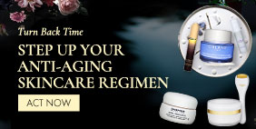 Turn Back Time 🕘 Step Up Your Anti-aging Skincare Regimen