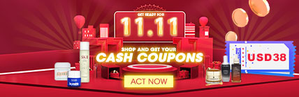 Get Ready For Double 11 ❤ Shop and get your CASH COUPONS
