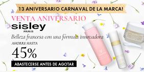 VENTA Aniversario Sisley